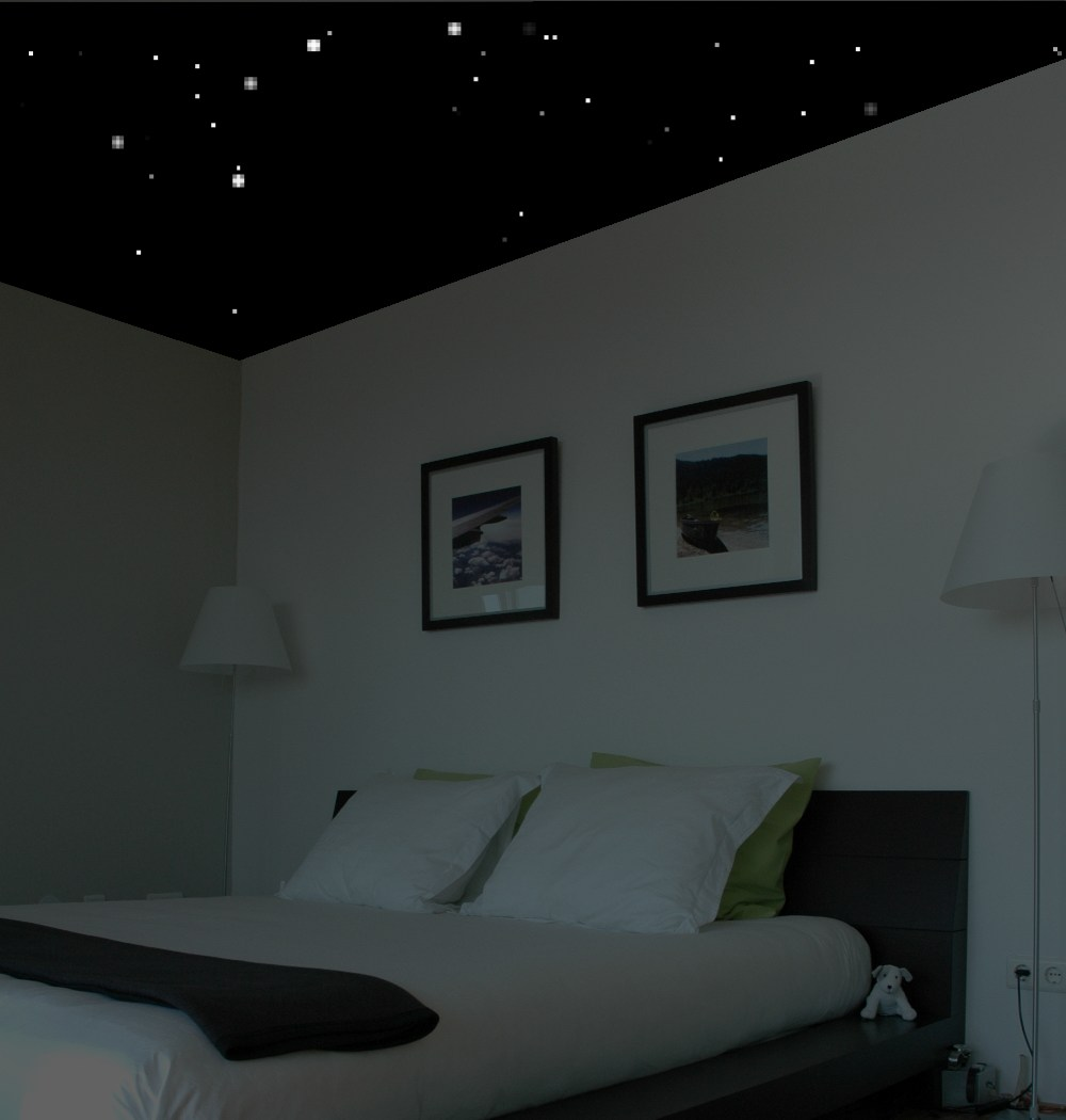 Stargazer Ceilings - bringing the night stars to your bedroom ceiling